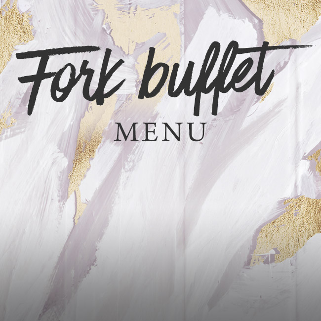 Fork buffet menu at The Boot Inn
