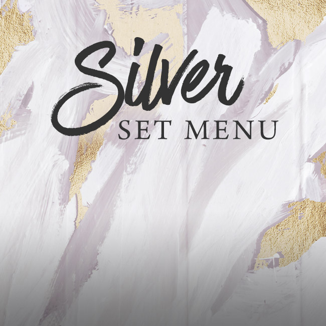 Silver set menu at The Boot Inn